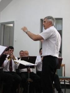 Szabó Imre őrnagy, a Magyar Honvédség központi zenekarának karmester helyettese